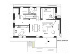 Locuinta individuala CLLR - plan parter